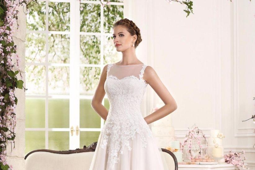 vestidos de novia cortos: los diseños que necesitas para inspirarte