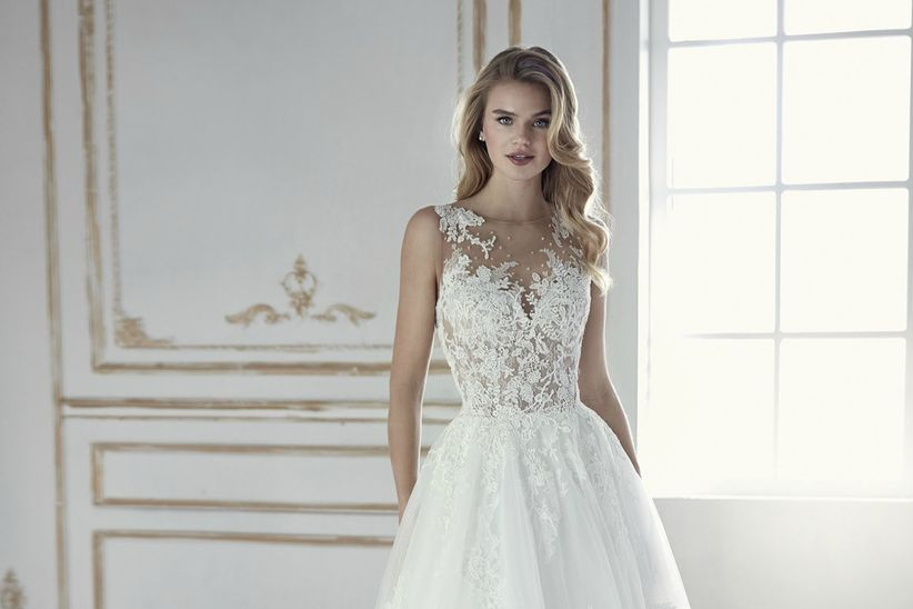 vestidos de novia la sposa 2018: romance y elegancia a tu medida