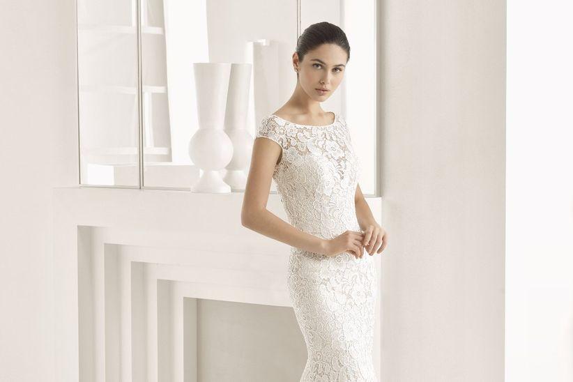 vestidos de novia con encaje: 45 diseños románticos y seductores