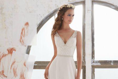 Vestidos de novia sencillos: 80 modelos con estilo y belleza