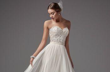 Los vestidos de novia para matrimonio civil que no deberías perder de vista