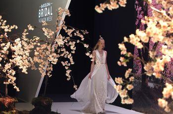 Novias de todo el mundo pendientes del  Barcelona Bridal Fashion Week