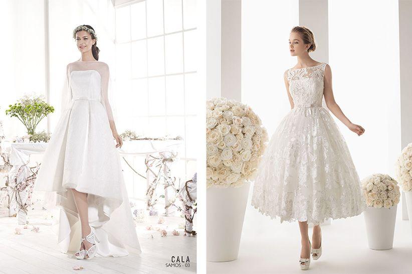 encuentra el largo perfecto para tu vestido de novia