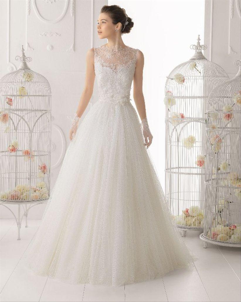 Vestidos de novia en encaje