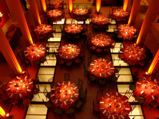 Consejos para organizar las mesas del banquete de matrimonio