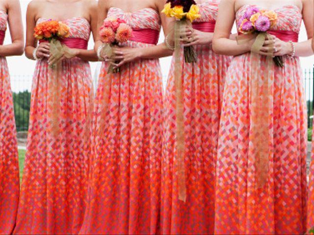Escogiendo los vestidos de tus damas