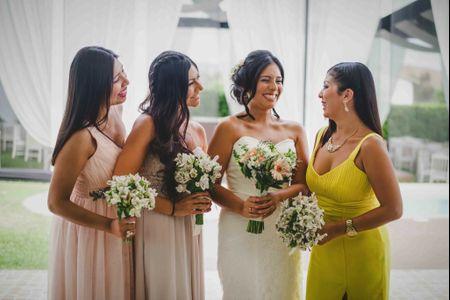 Cuántas damas de honor puedes tener en tu matrimonio