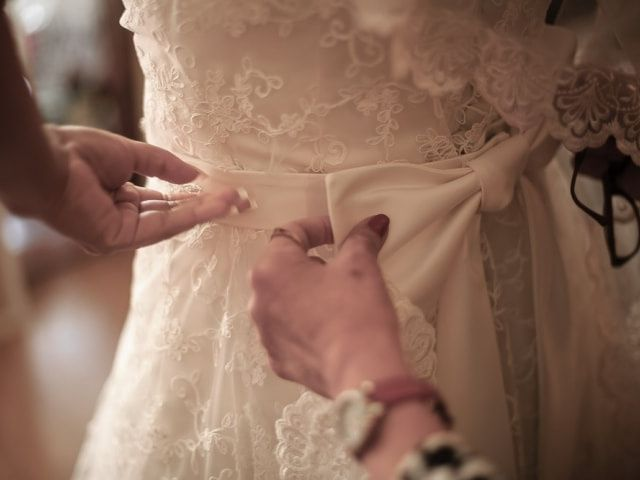 Cinturones para tu vestido de novia