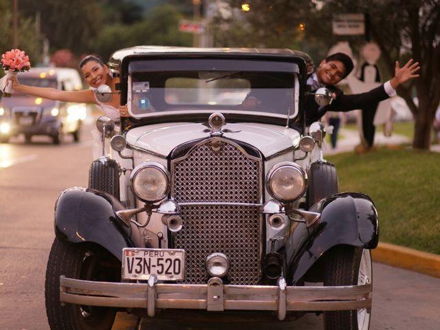 El auto de boda: carcochitas para morir de amor