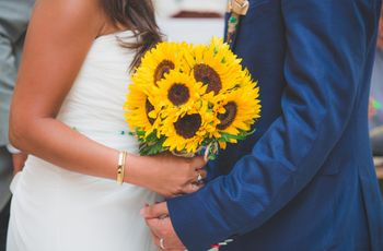 8 ideas para decorar tu matrimonio con girasoles
