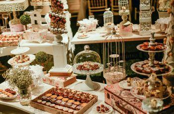Candy bar: 10 ideas para la mesa de dulces de tu boda