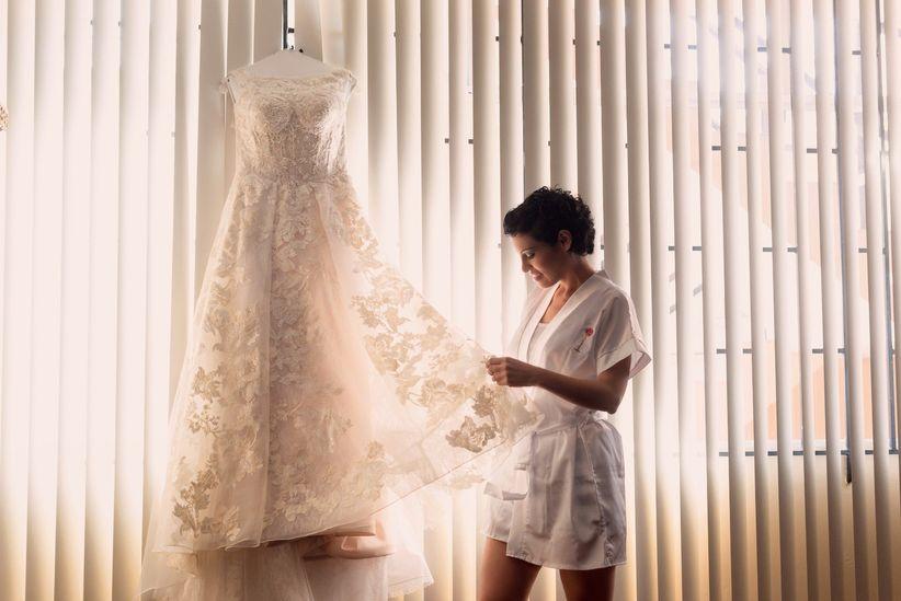 cuidados para guardar tu vestido después de la boda