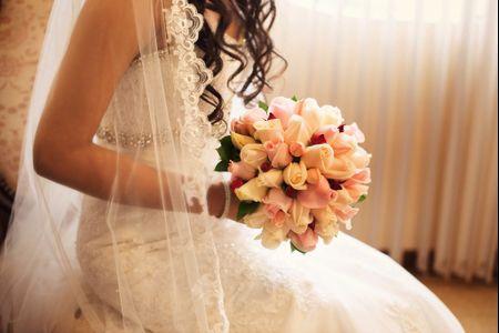 8 motivos para preferir las rosas en tu bouquet de novia