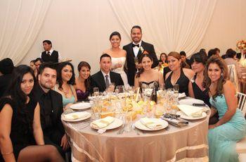 Protocolo en la recepción del matrimonio