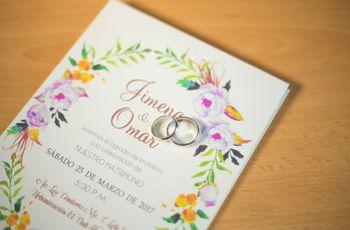 Tarjetas de matrimonio 2017: ¡35 ideas para inspirarte!