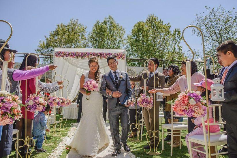 pensando en la decoración de local para matrimonio?