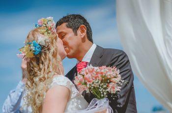 8 secretos para lucir un peinado para novia con cabello rizado