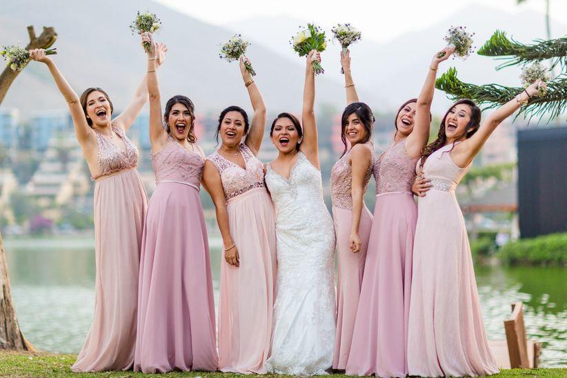 fd9b6abce Vestidos para damas de honor  ¿cómo elegirlos