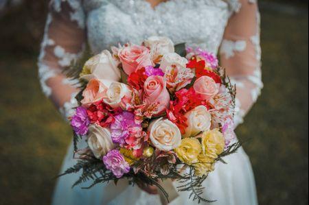 Bouquet de novia en primavera ¡encuentra las flores ideales!