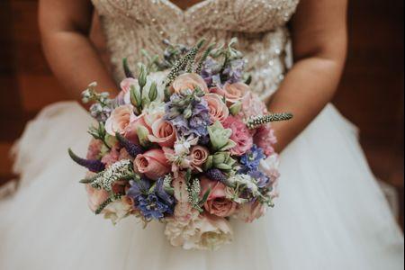 Bouquet de novia artificial o natural: ¿cuál es el tuyo?
