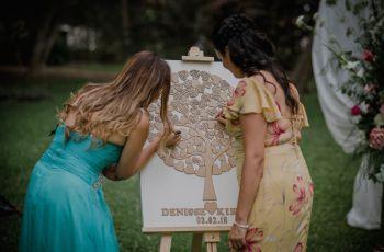 Árbol de los deseos: para que conserven las buenas intenciones de sus invitados