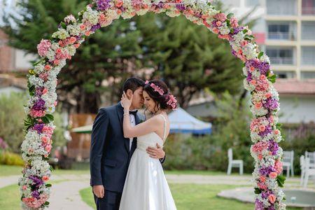 Decoración floral del matrimonio ¡fragancias y colores para su gran día!