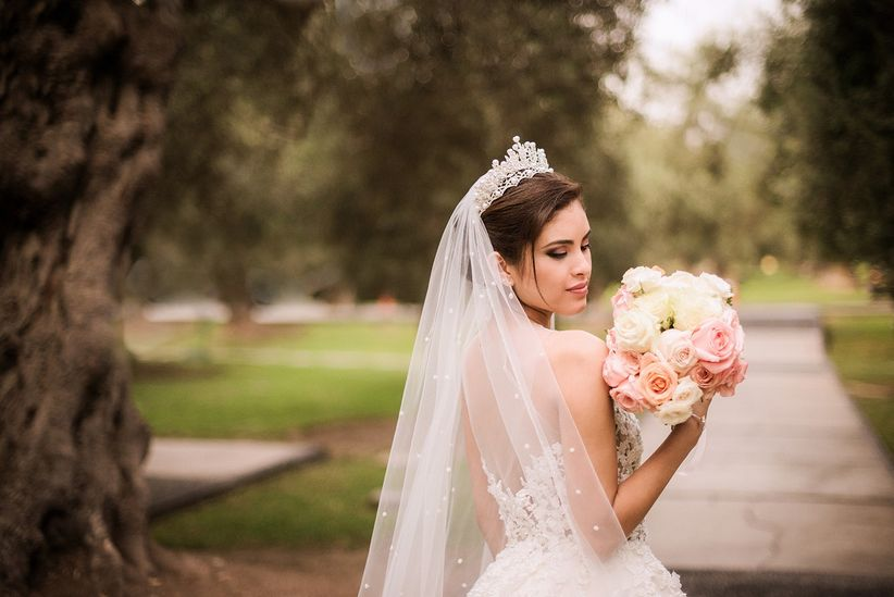 c773b8a740b52 Velo de novia  7 tips para elegir el largo ideal