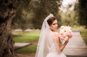 Velo de novia: 7 tips para elegir el largo ideal