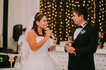 El brindis de matrimonio: qué decir y en qué momento sin desfallecer en el intento