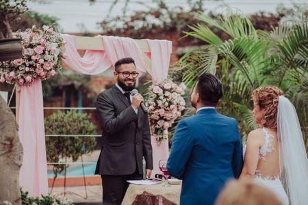 El guion de una boda civil única: 10 secretos para una ceremonia inolvidable