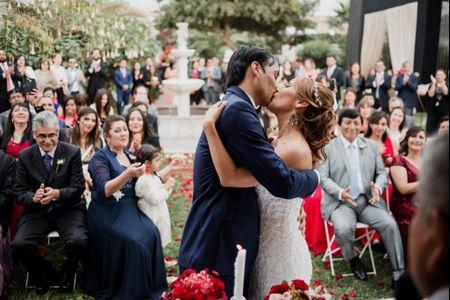 El primer beso de casados: 10 tips para obtener las mejores fotos