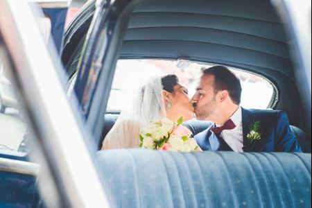 Decoración del auto de matrimonio ¡5 propuestas fieles a tu estilo!