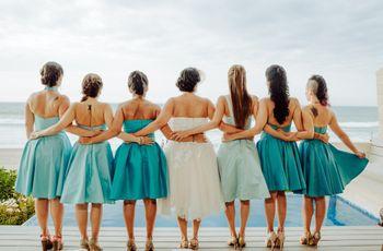 10 funciones que pueden desempeñar las damas de honor