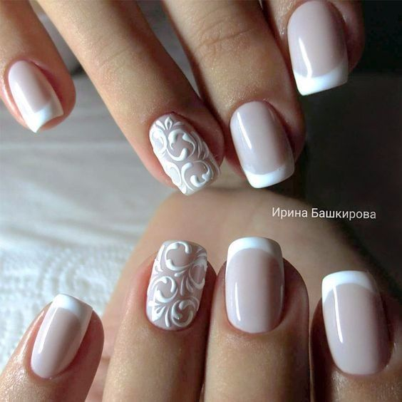 Beautiful French Nail Art Designs: 5 Estilos De Manicure Francesa Con Diseños