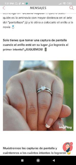 Ponle el anillo a la novia 💍  ¿Aciertas? 🤭 3