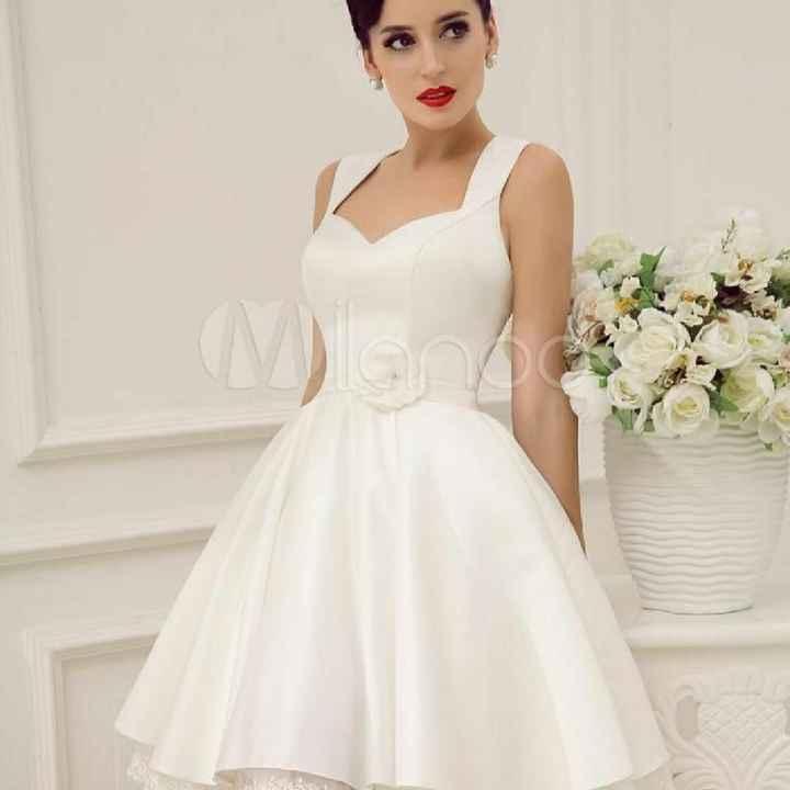 Vestido de boda para el civil - 1