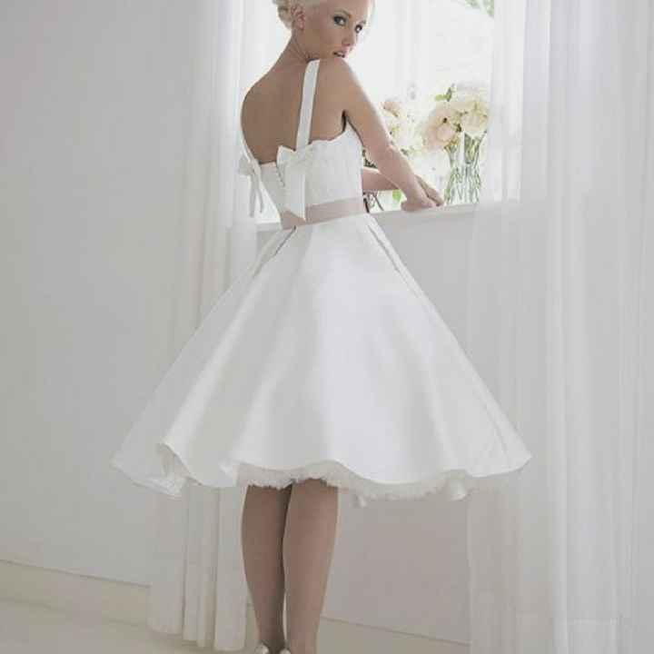 Vestido de boda para el civil - 2