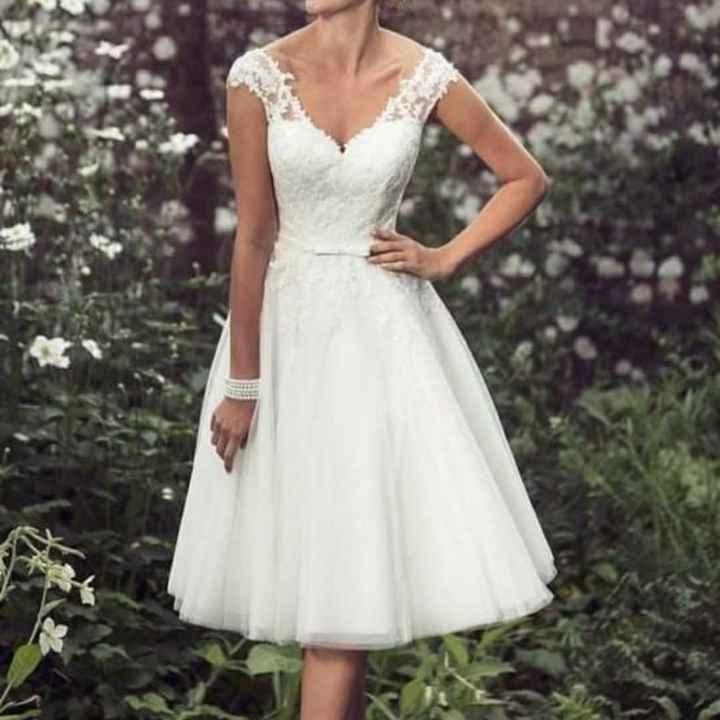 Vestido de boda para el civil - 3