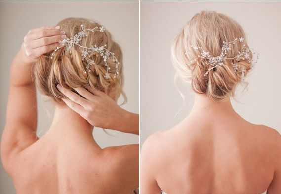 058e23e308 Diy  hazte tu misma el peinado de novia o invitada