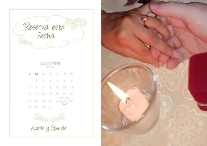 ¡Crea tus propio SAVE THE DATE! 2