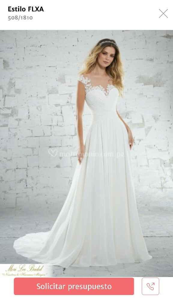 Sí, me caso con este vestido - 1