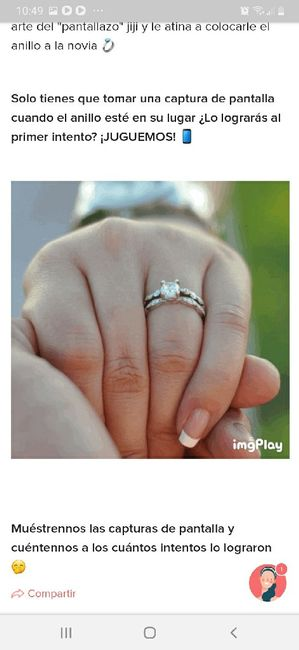 Ponle el anillo a la novia 💍  ¿Aciertas? 🤭 5