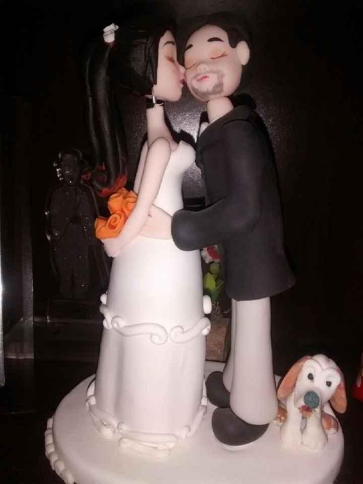 Matrimonio david y tanya - torta y topper cake - 1