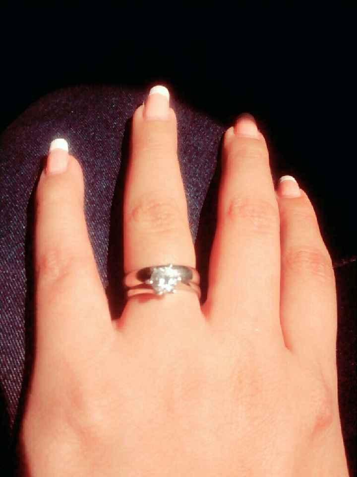 Anillo de compromiso y/o aros de matrimonio - 1