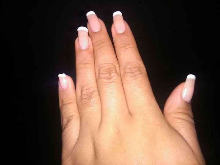 Manicure de la novia - 1