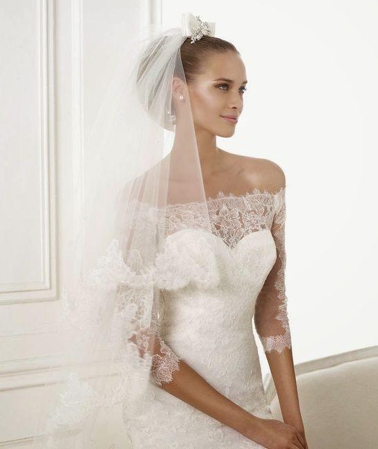 que encaje eliges para tu vestido de novia? - página 2