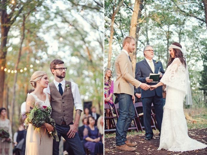 Matrimonio In Jeans : Te agrada el estilo de boda bohemio