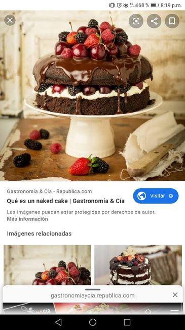 ¿De qué sabor será tu torta de matrimonio? 6