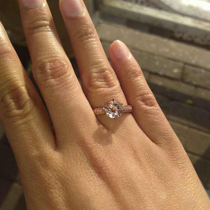 ¿Tienes alguna foto 'casual' con tu anillo de compromiso? - 2