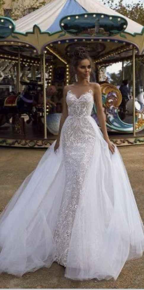 Vestido de novia 2 en 1 - 1